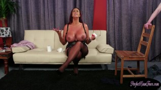 bigtitted milf cocksucking before facial