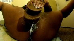 Super Creamy Redbone Loveee to taste her own CUMMMM!!!!
